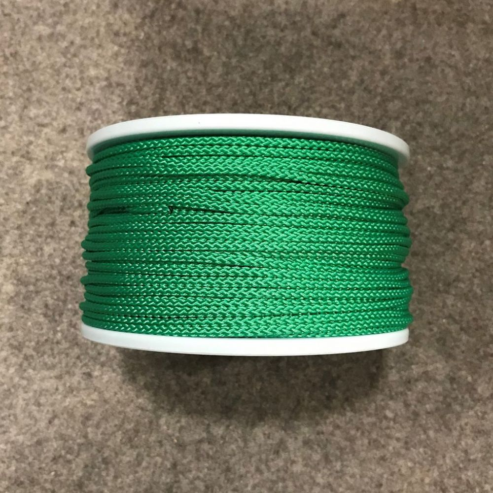 Green 3mm Polypropylene Slipstream Cord